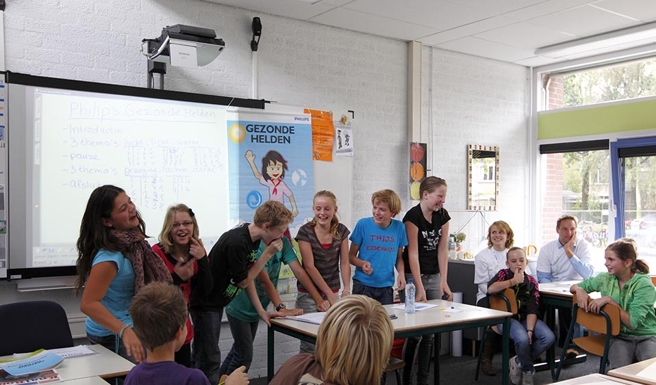 Foto: Bram Saeys/HH, Boxtel, Simply Healthy @ Schools, Philips